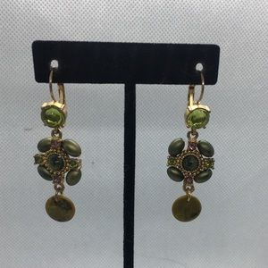 4 for $12: Unique Gold Tone Earrings